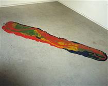 Odalisque: Hey Hey Frankenthaler - Lynda Benglis