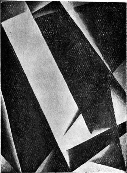 Untitled, 1922 - Lioubov Popova