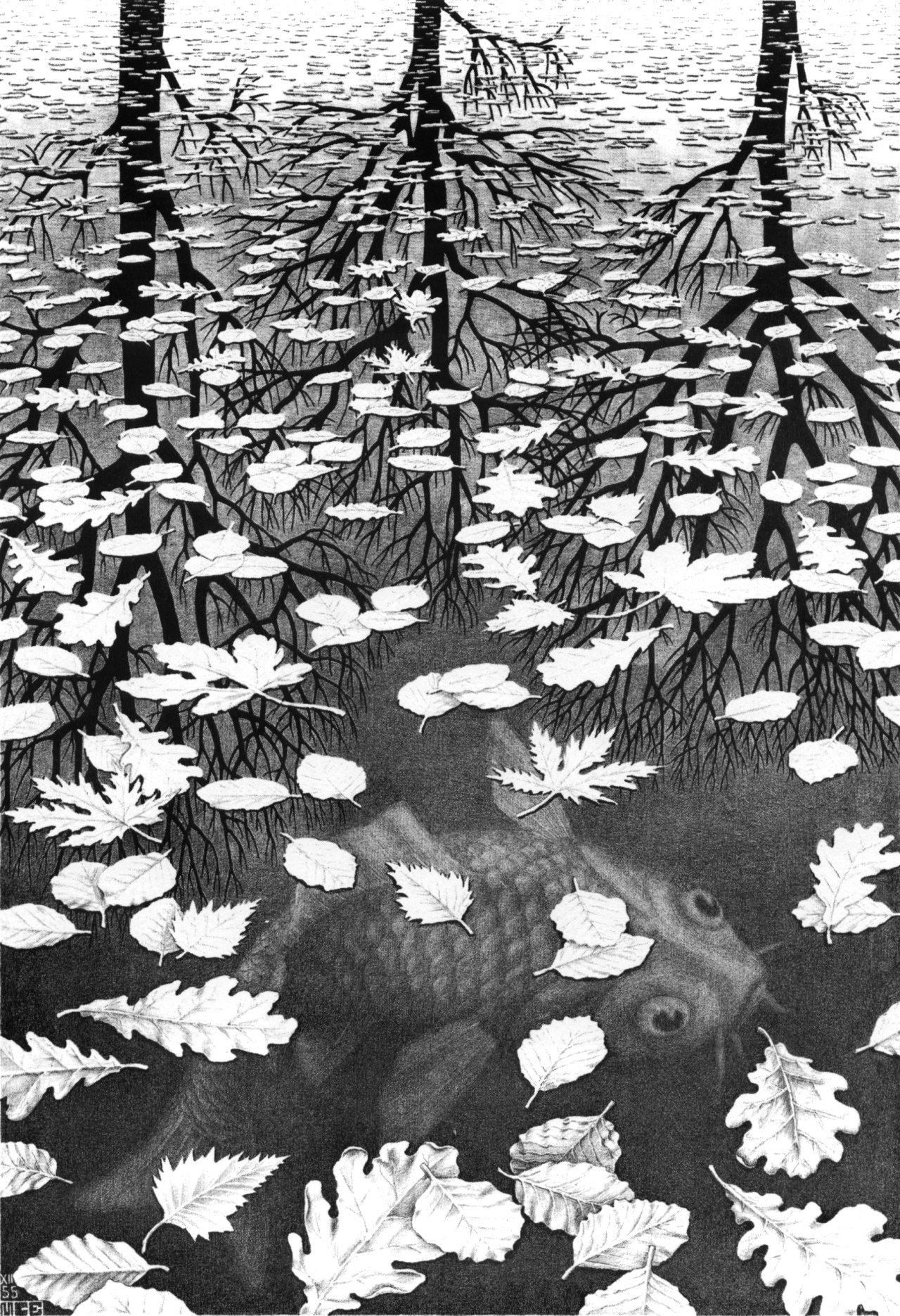 the life and work of maurits cornelis escher a dutch artist Maurits cornelis escher (dutch pronunciation: [ˈmʌurɪts kɔrˈneːlɪs ˈɛsxər] 17 june 1898 - 27 march 1972), or commonly m c escher, was a dutch graphic artist who made mathematically inspired woodcuts, lithographs, and mezzotintshis work features mathematical objects and operations.