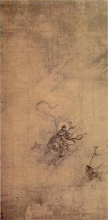 Immortal Riding a Dragon - Ma Yuan