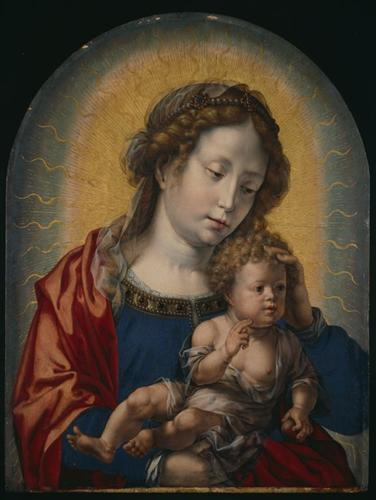 Virgin and Child - Mabuse