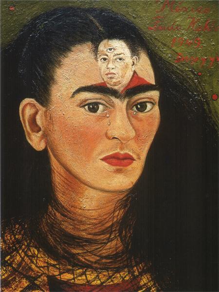 Diego and I, 1949 - Frida Kahlo