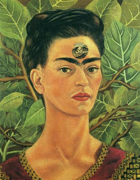Thinking About Death, 1943 - Frida Kahlo