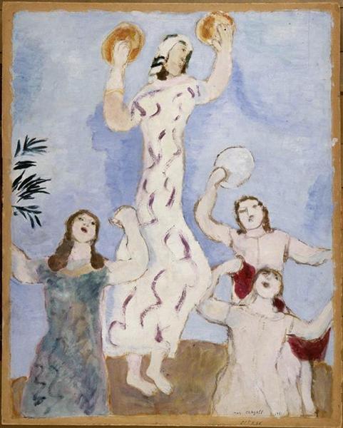 Miriam dances, 1931 - Marc Chagall