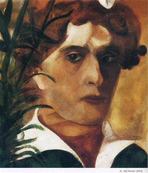 Self Portrait, 1914 - Marc Chagall