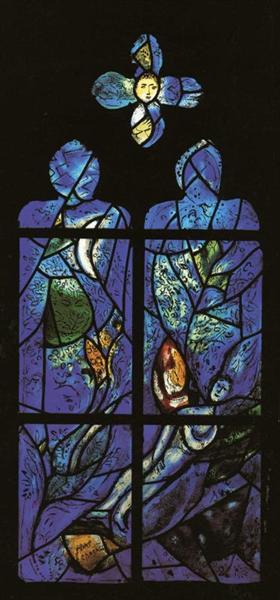 St. Mark and St. Matthew, 1978 - Marc Chagall