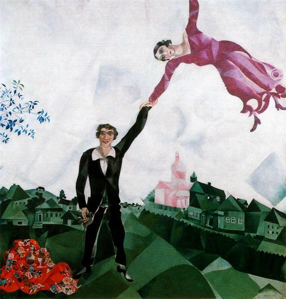 The Promenade, 1918 - Marc Chagall