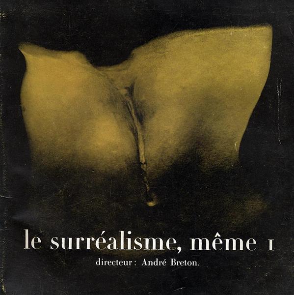 "Female Fig Leaf - Cover design for ""Le Surréalisme"", 1956 - Marcel Duchamp"