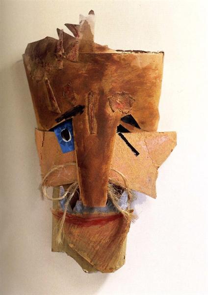 Mask, 1919 - Marcel Janco