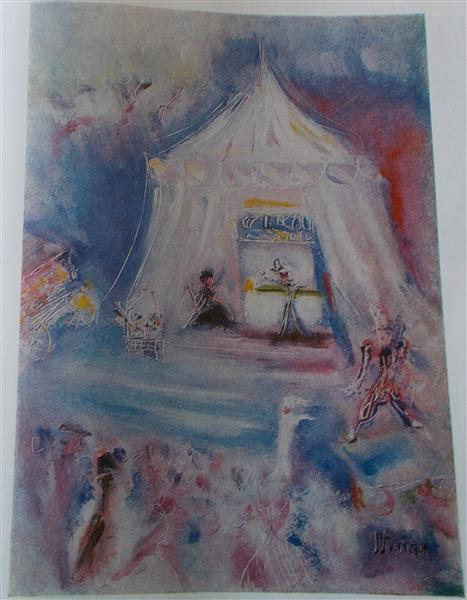 The Circus in the Tent - Margareta Sterian