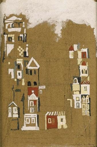 Maisons, 1946 - Maria Helena Vieira da Silva