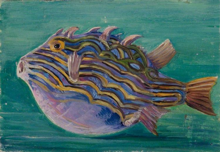 Exotic Fish, 1880 - Marianne North