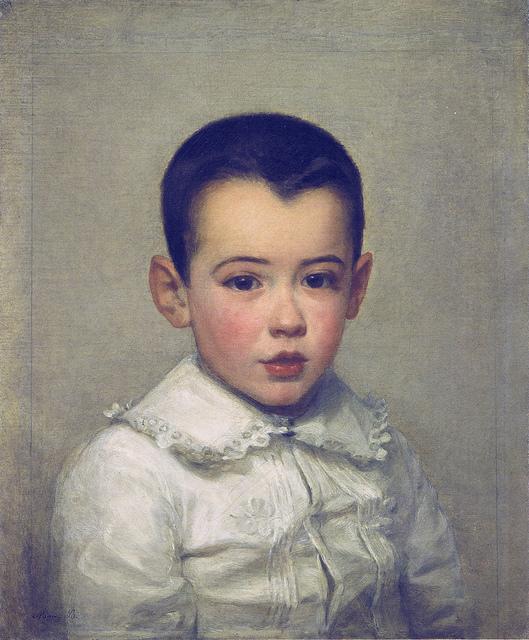 Pierre Bracquemond as child, 1878
