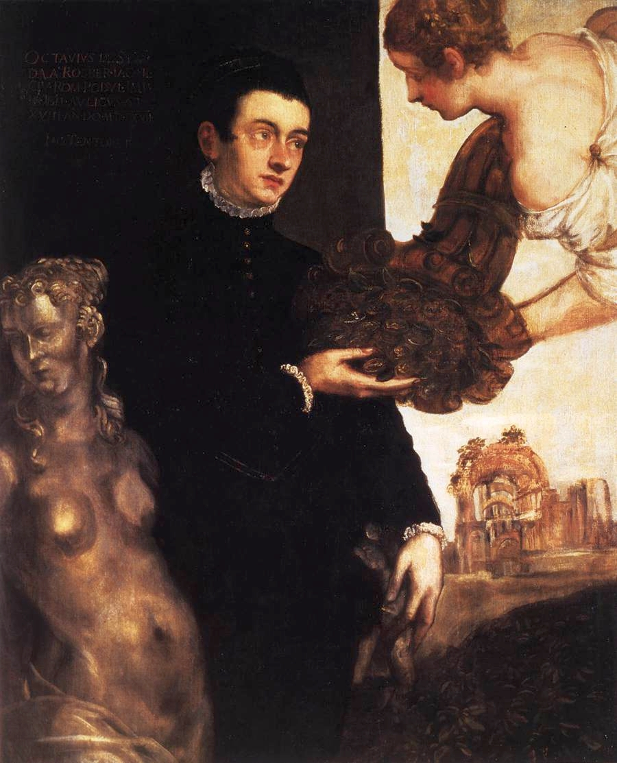 Portrait of Ottavio Strada (attributed), 1568