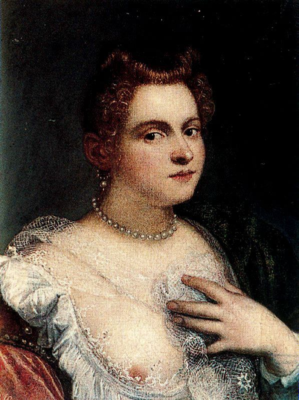 Self-portrait (or Venetian Woman; attributed)