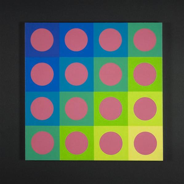 Contrasti simultanei, 1973 - Mario Ballocco