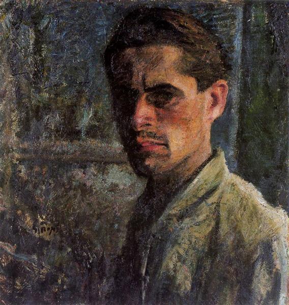 Self-Portrait, 1910 - Mario Sironi