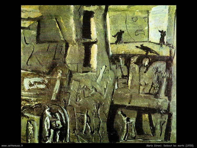 Standing dead, 1958 - Mario Sironi