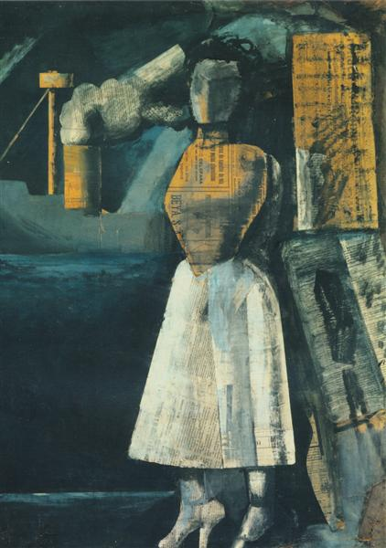 Venus of the ports - Mario Sironi