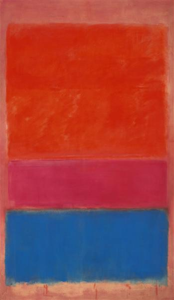 No. 1 (Royal Red and Blue) - Mark Rothko