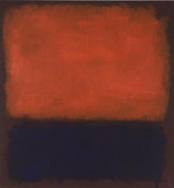 No. 14, 1960 - Mark Rothko