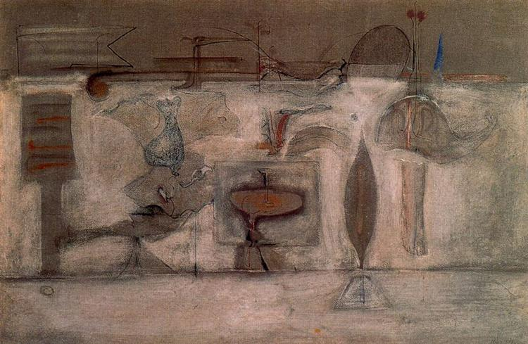 Untitled, 1944 - Mark Rothko