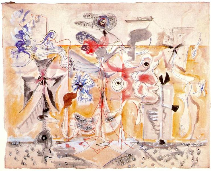 Untitled, c.1945 - Mark Rothko