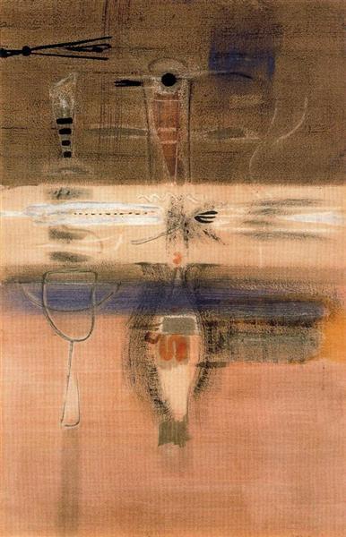 Untitled, 1946 - Mark Rothko