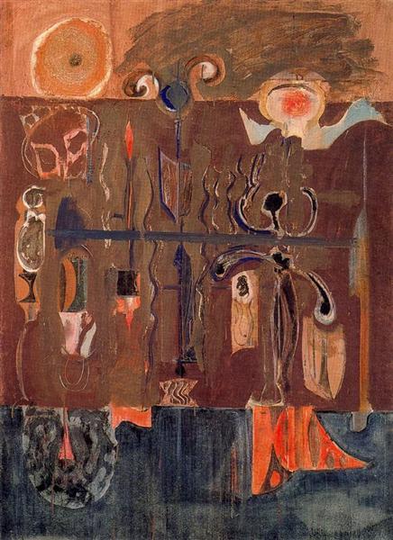 Fantasy, 1945 - Mark Rothko