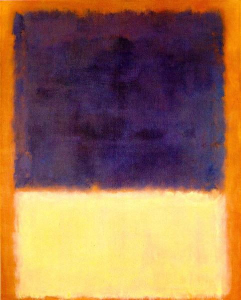 Red, Orange, Tan and Purple, 1954 - Mark Rothko