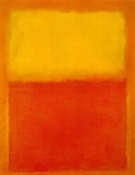 Orange and Yellow, 1956 - Mark Rothko