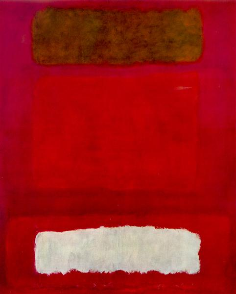 No. 16 (Red, White, and Brown), 1957 - Mark Rothko