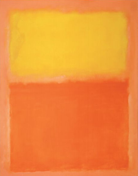 Orange and Yellow - Mark Rothko
