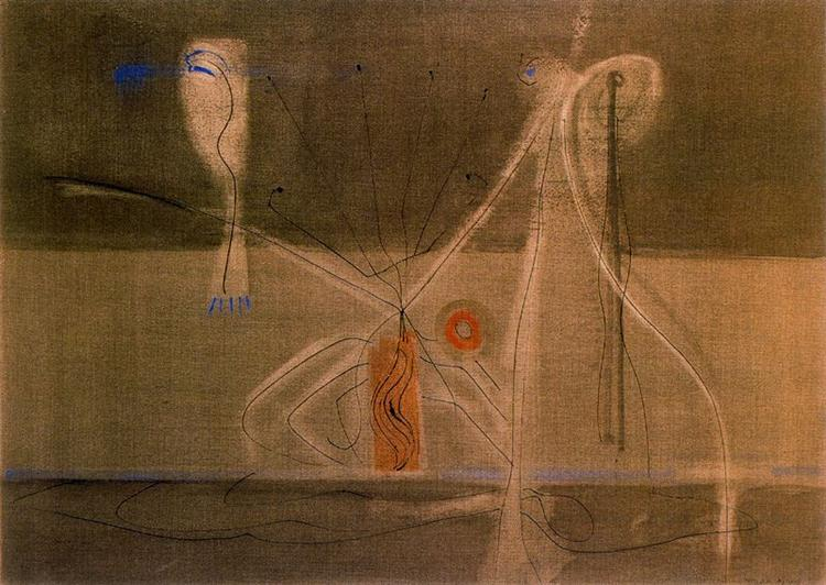 Tentacles of Memory, 1946 - Mark Rothko