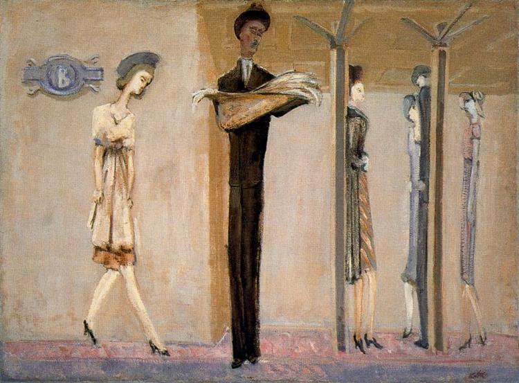 Underground Fantasy, c.1940 - Mark Rothko