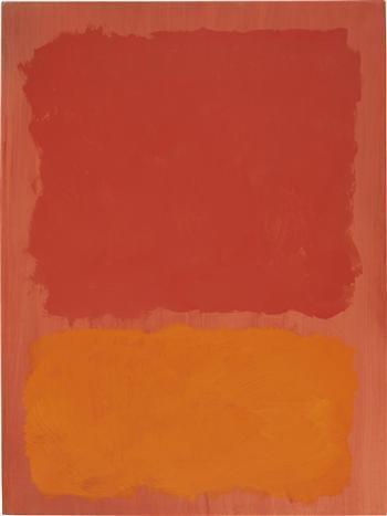 Untitled (Red and Orange on Salmon), 1969 - Mark Rothko
