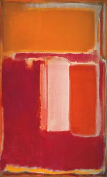 Yellow, Cherry,Orange - Mark Rothko