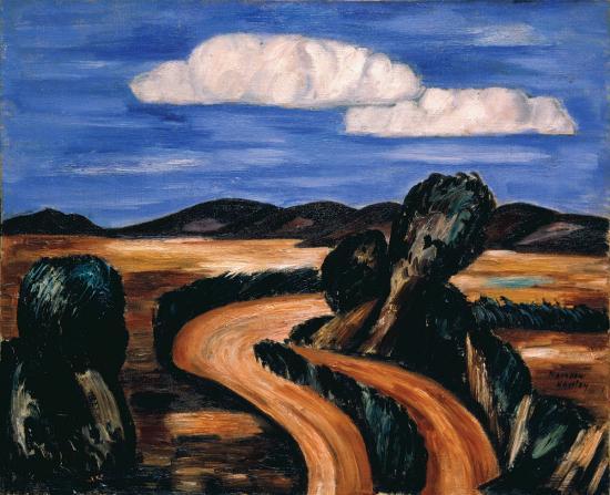 Landscape, New Mexico, 1923 - Marsden Hartley