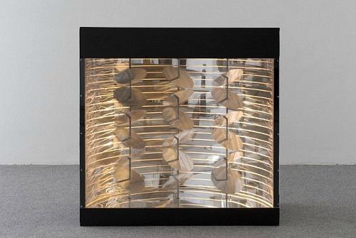 Déplacement helicoideaux lumineux, 1967 - Martha Boto
