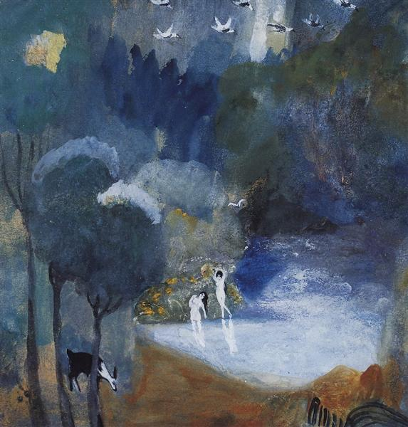 Fairy lake, 1905 - Martiros Sarian