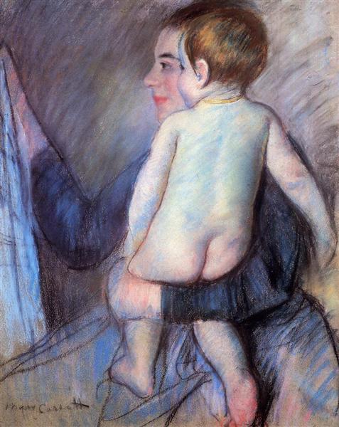 At the Window, 1889 - Mary Cassatt