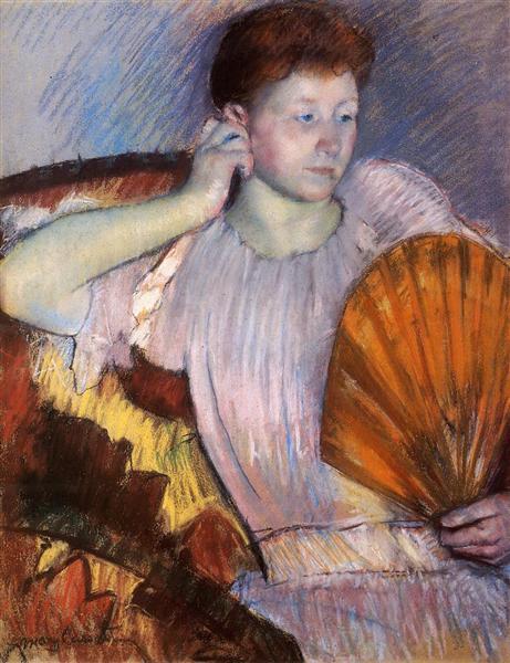 Contemplation, 1891 - Mary Cassatt