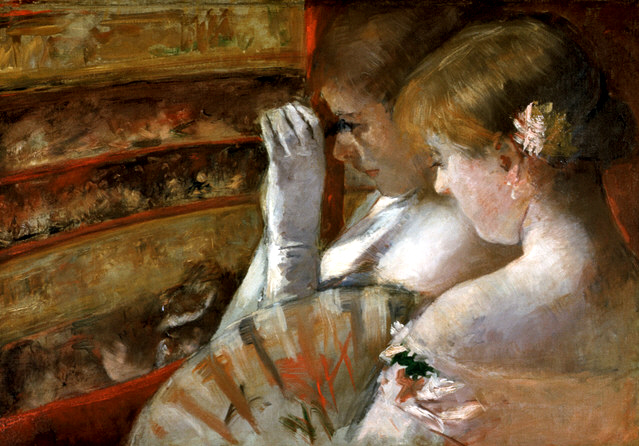 In the Box, c.1879 - Mary Cassatt