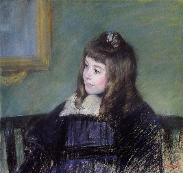 Marie Therese Gaillard, 1894 - Mary Cassatt