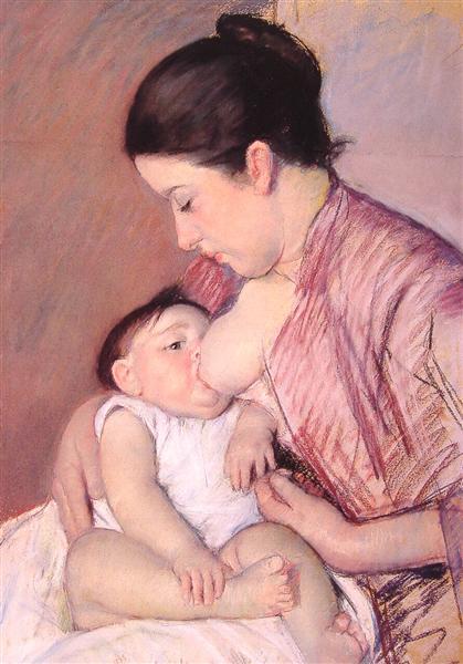 Maternity, c.1890 - Mary Cassatt