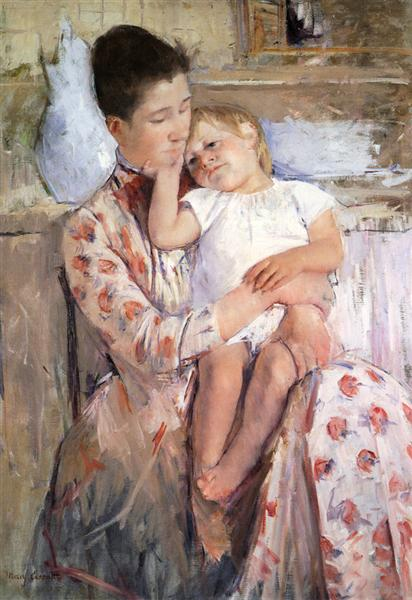 Mother And Child, c.1890 - Mary Cassatt