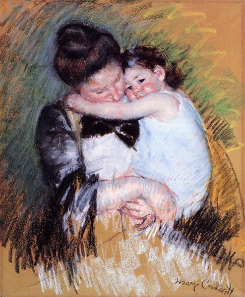 Mother and Child, c.1900 - Mary Cassatt