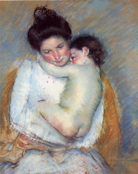 Mother and Child, c.1900 - Mary Cassatt