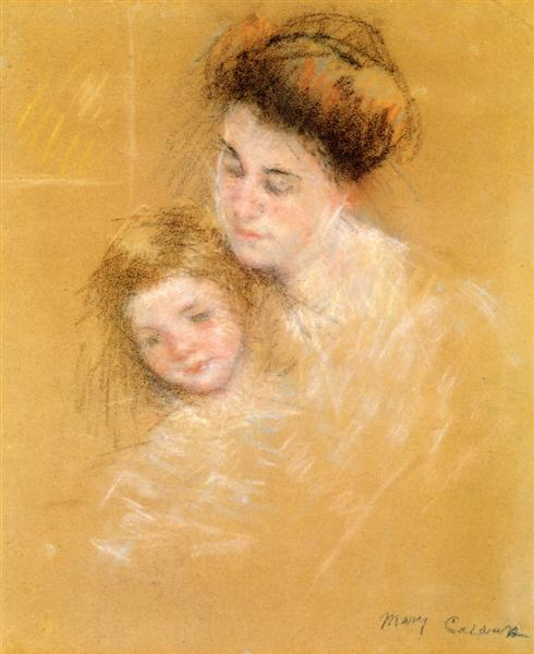 Mother and Child, c.1908 - Mary Cassatt