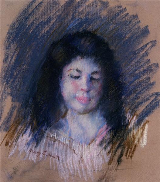 Sketch of Francois - Mary Cassatt